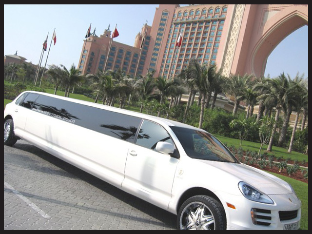Limousine rental services in UAE