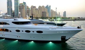 Private Yacht in Dubai