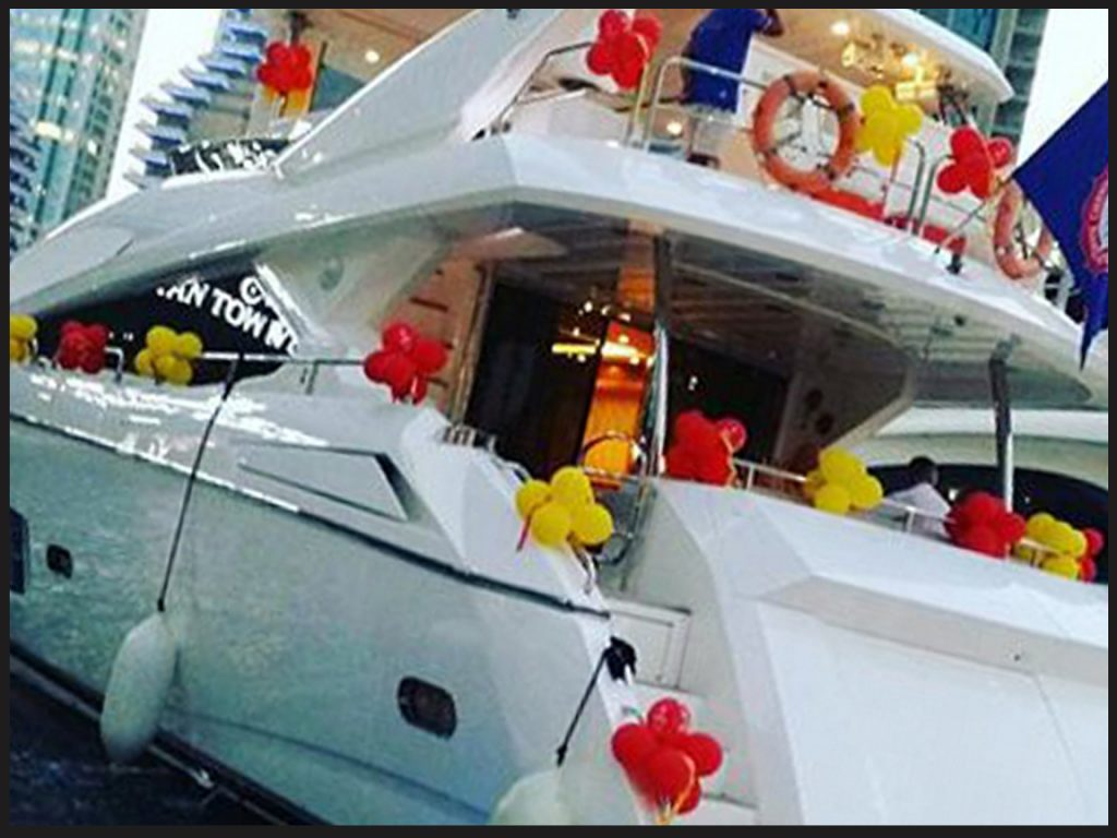 yacht decorations services
